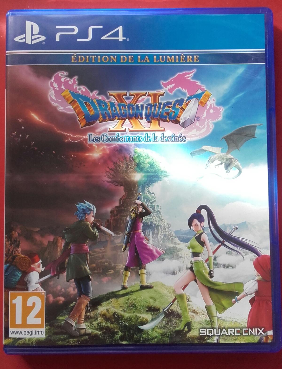Retour des vacances et Dragon QuestXI