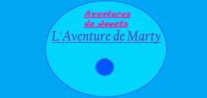 Aventures de Jouets - L'Aventure de Marty - Couverture