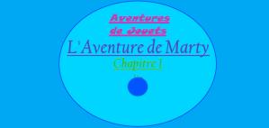 Aventures de Jouets - L'Aventure de Marty - Chapitre 1 - Couverture