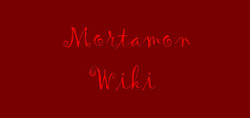 MortamonWiki - Wordmark