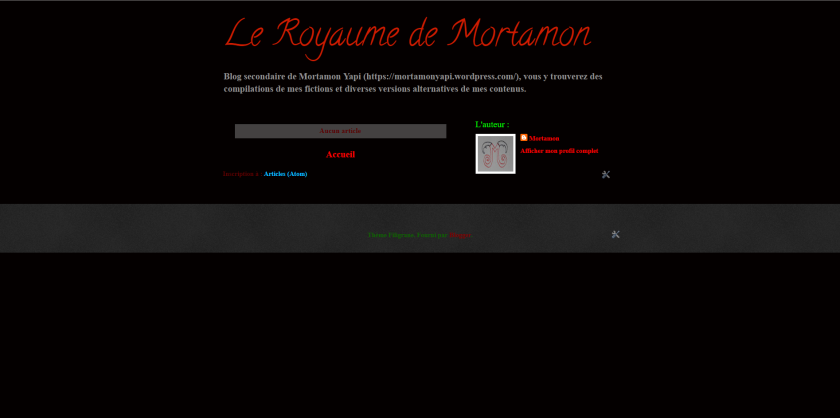 le royaume de mortamon (août)