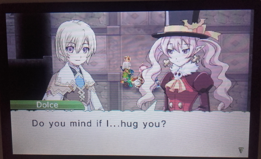 Rune Factory 4 - Dolce wants a hug