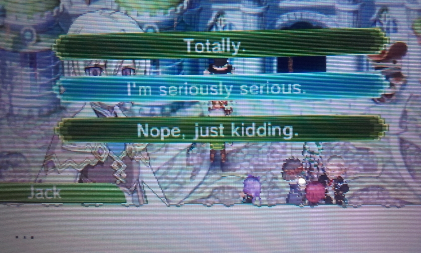 Rune Factory 4 - Why so seriously serious ?