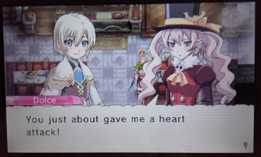 Rune Factory 4 - Dolce's almost got a heart attack