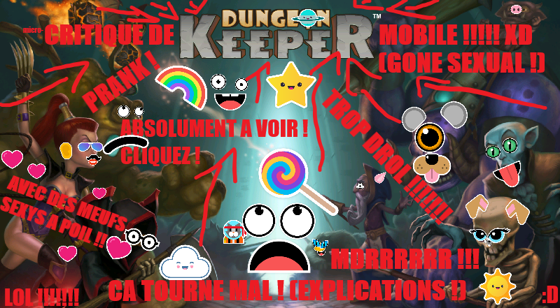 Dungeon Keeper (Mobile) – Micro-Critique