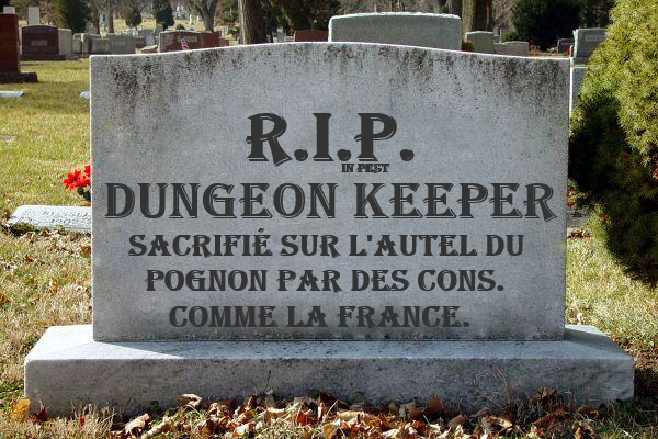 R.I.P. Dungeon Keeper