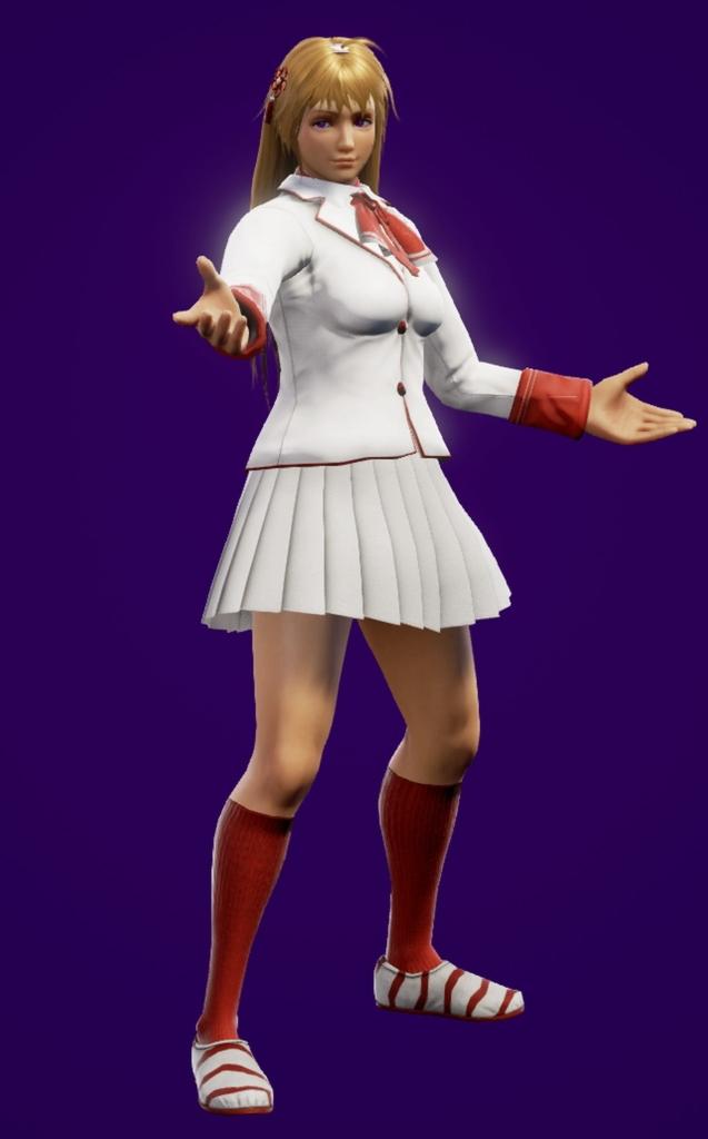 SOULCALIBUR™Ⅵ - Devilia (costume blanc)