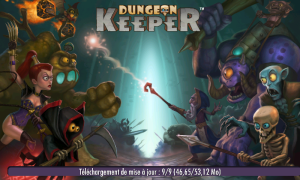 Dungeon Keeper (Mobile) - Lancement