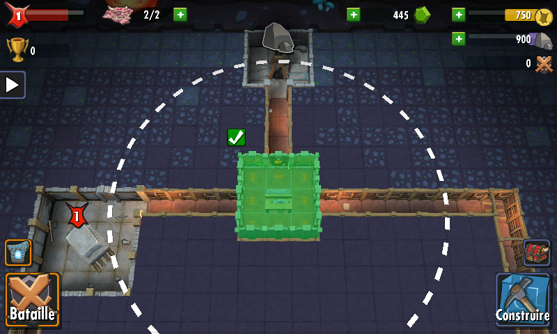 Dungeon Keeper (Mobile) - Salle