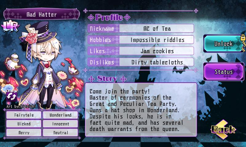 Fallen Princess - Mad Hatter (LR)