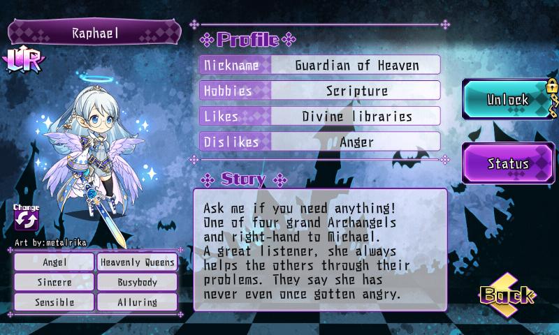 Fallen Princess - Raphael (LR)