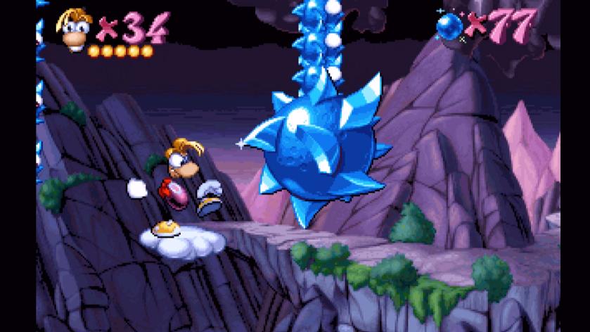 Rayman Forever - MortaLet's Play [Partie 6 - Les Montagnes Bleues]