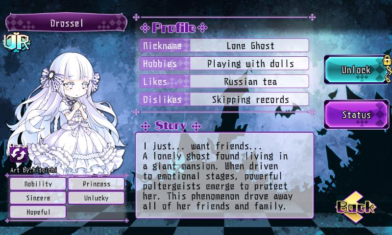 Fallen Princess - Drossel (UR)