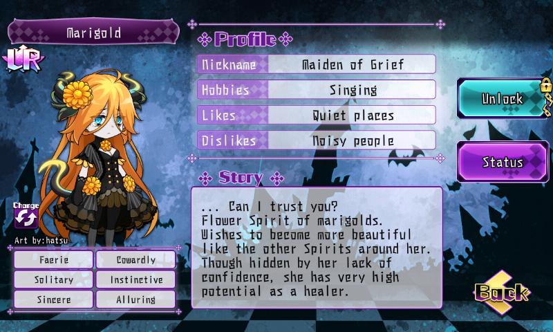 Fallen Princess - Marigold (LR)