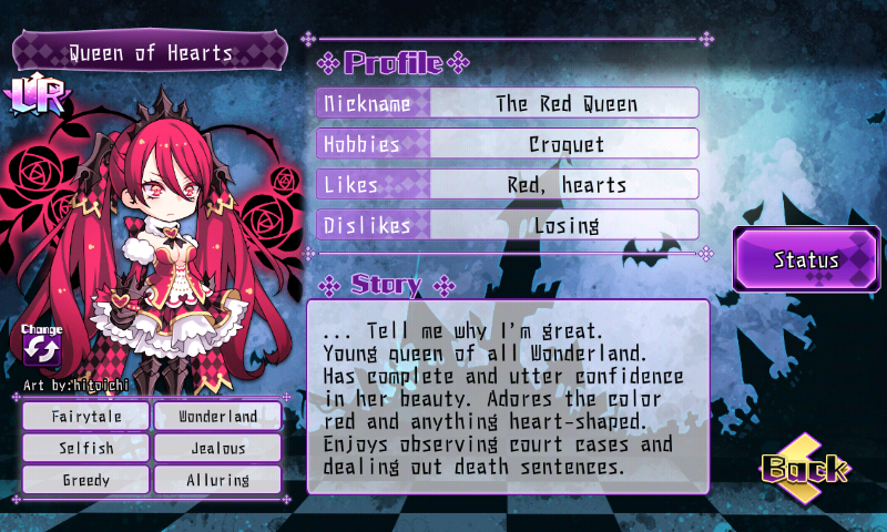 Fallen Princess - Queen of Hearts (LR)