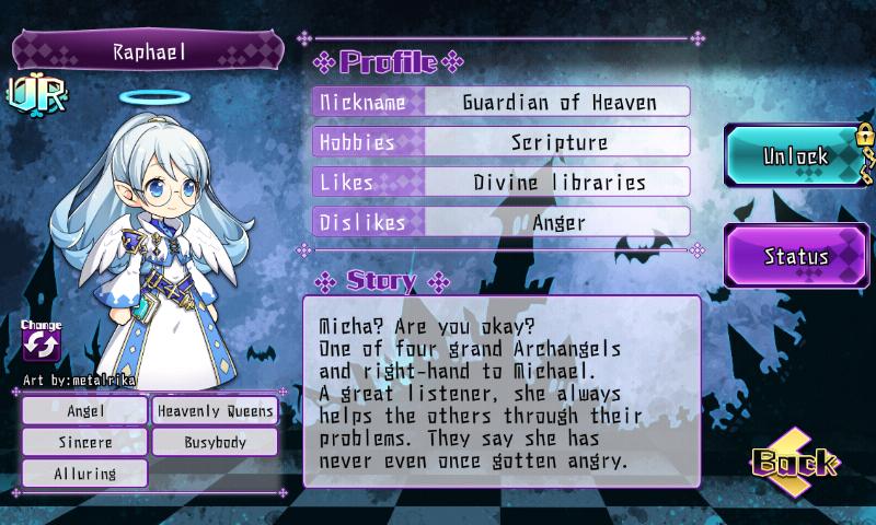 Fallen Princess - Raphael (UR)