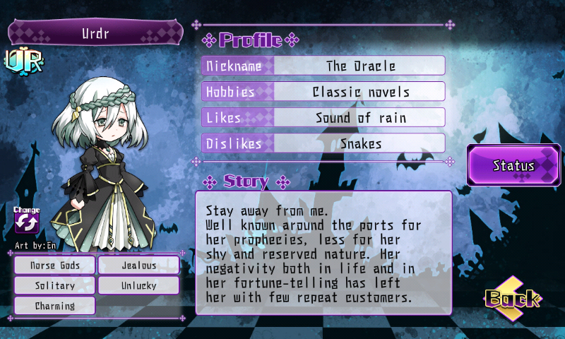 Fallen Princess - Urdr (UR)