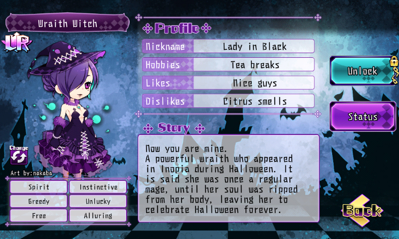 Fallen Princess - Wraith Witch (LR)