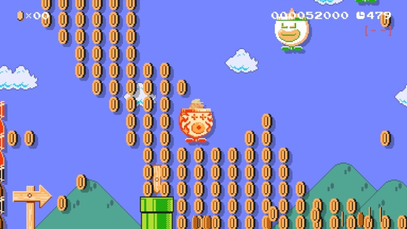 Super Mario Maker - Coin Paradise