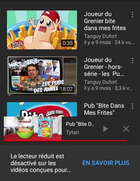 YouTube - Pédobite