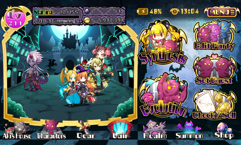 Fallen Princess - Characters
