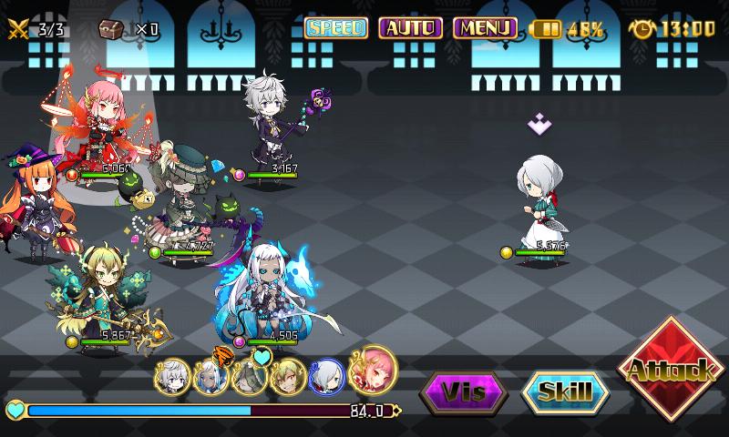 Fallen Princess - Combat contre Maid