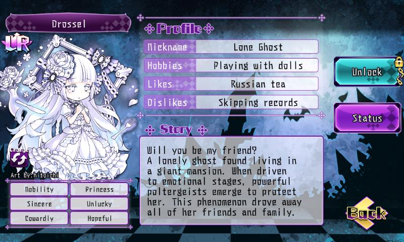 Fallen Princess - Drossel (LR)