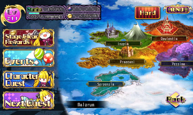 Fallen Princess - Mode Histoire