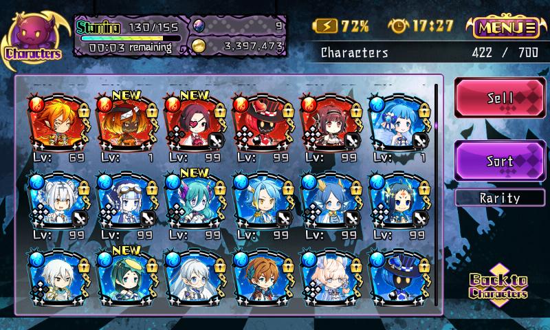 Fallen Princess - Plusieurs personnages