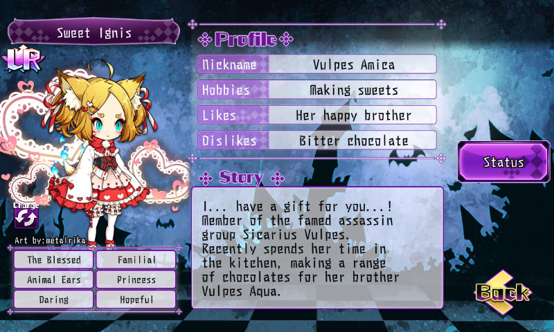 Fallen Princess - Sweet Ignis (LR)