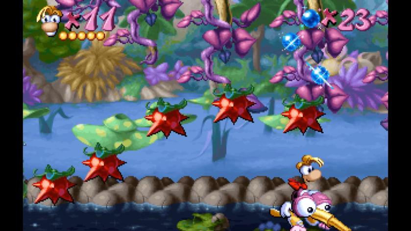 Rayman - Fruits piquants