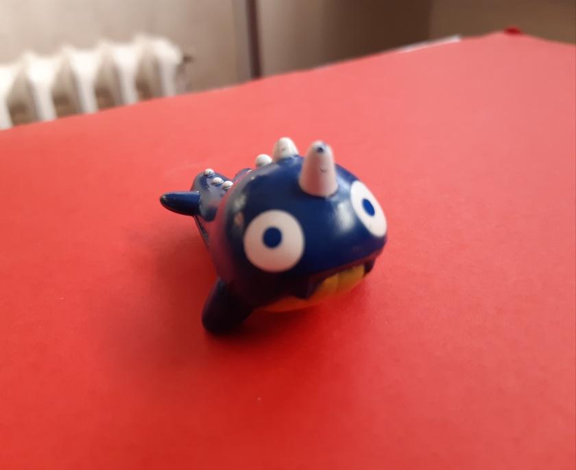 Bleu, la créature bleue