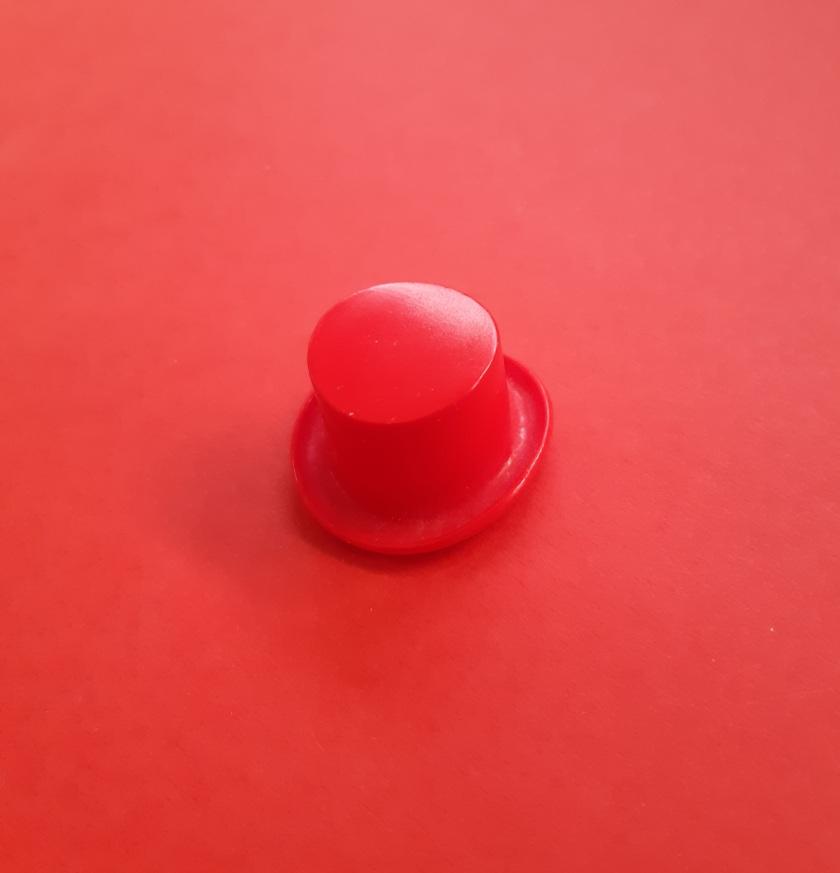 Haut de forme rouge